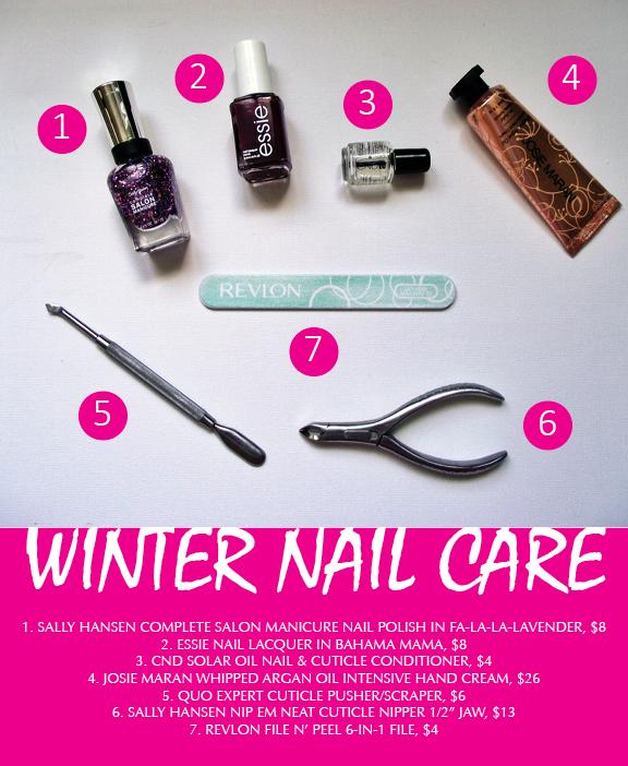 Winter Nail Care