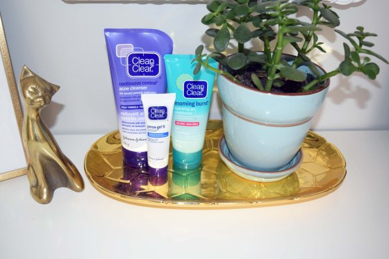Beauty and the Blog Clean & Clear Acne Routine